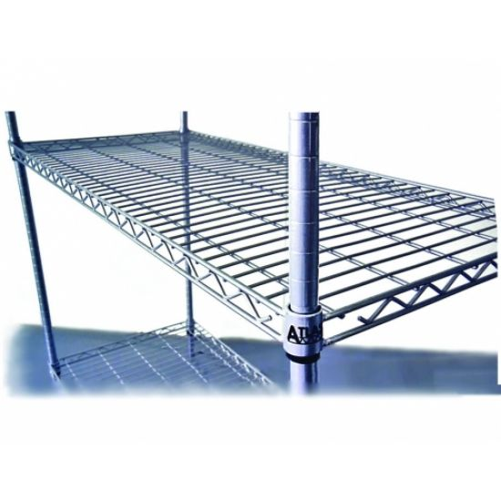Atlas 5 Shelf Wire Add-On Shelving Kits A24427EPL5