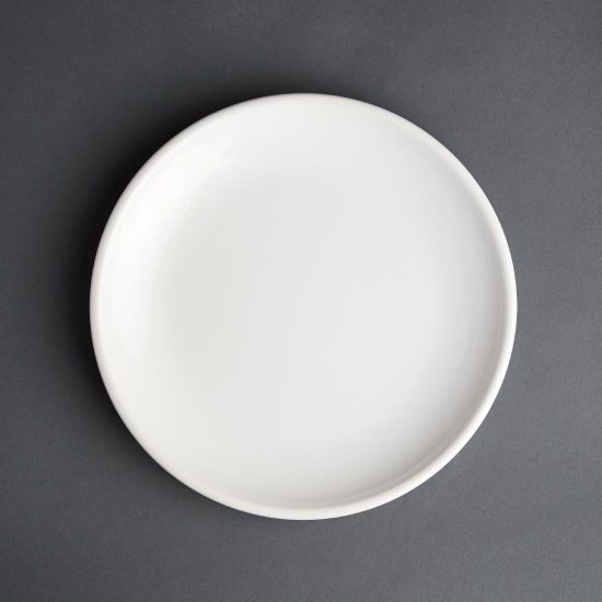 Olympia Cafe Coupe Plate White 250mm (Pack of 6)