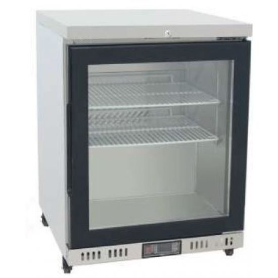Underbench Single Glass Door 145L Display Freezer MBC24FG