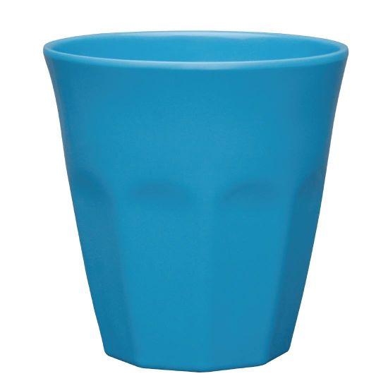 Kristallon Melamine Plastic Tumbler Blue 290ml (Pack of 6)